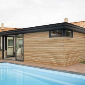 Extension de maison toit plat