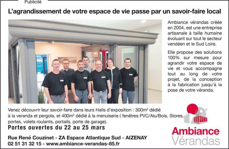 L'équipe d'Ambiance Vérandas Vendée et Sud Loire