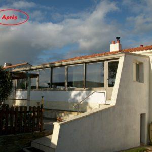 Rénovation de vérandas à Aizenay Vendée