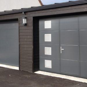 Porte de garage coulissante en Vendée