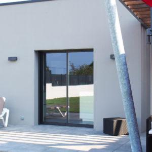 Baie aluminium coulissante en Vendée