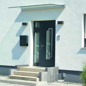 Porte d'entrée en aluminium Vendée